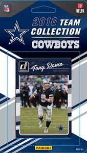 2016 Donruss Football Dallas Cowboys Team Set of 15 Cards in Factory Sealed Package: Tony Romo(#76), Darren McFadden(#77), Terrance Williams(#78), Jason Witten(#79), Dez Bryant(#80), Cole Beasley(#81), Sean Lee(#82), Alfred Morris(#83), Dan Bailey(#84), Emmitt Smith(#85), Charles Tapper(#308), Maliek Collins(#332), Dak Prescott(#362), Ezekiel Elliott(#368), Jaylon Smith(#373)