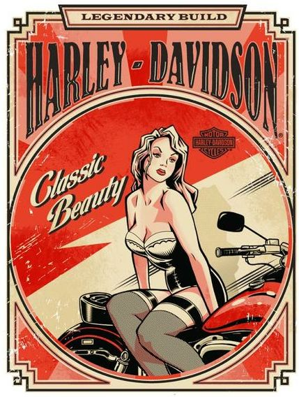 Harley-Davidson catalog design by Jeremy Packer