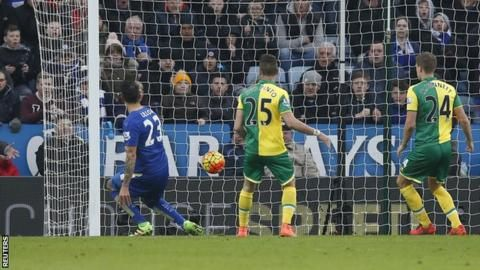 Leicester City 1-0 Norwich City - BBC Sport