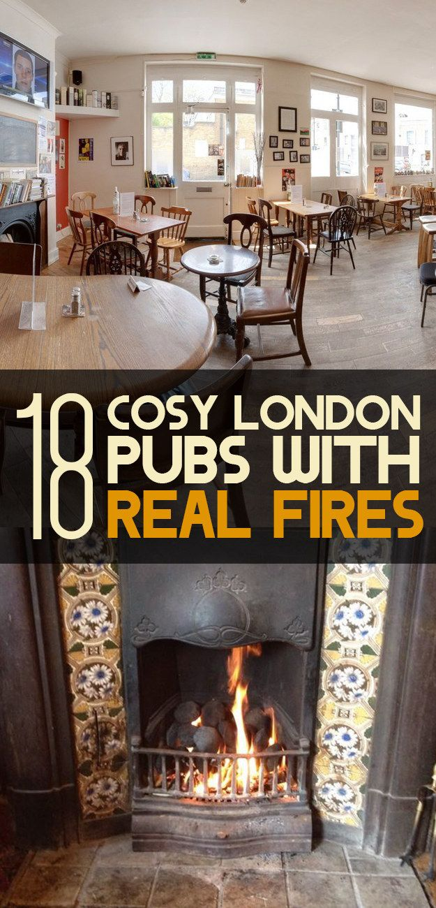18 Cosy London Pubs With Real Fires