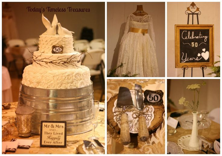 50th wedding anniversary party ideas on a budget