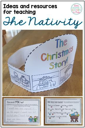 Ideas and resources perfect for teaching your class all about the Nativity this Christmas season!