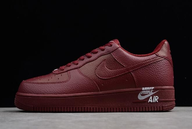 Nike Air Force 1 07 Leather Red Shoes Best Price AJ7280 600