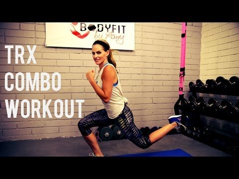25 Minute TRX Workout Combining TRX Suspension Training with a HIIT Workout - YouTube