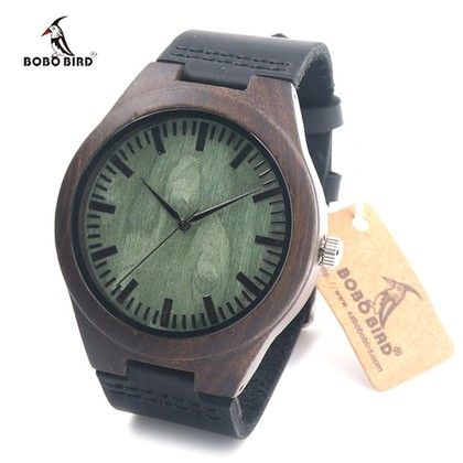 Bobo Bird Style W052 - деревянные наручные часы - «Watch5Men»