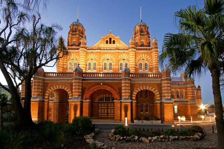 The old Brisbane museum.