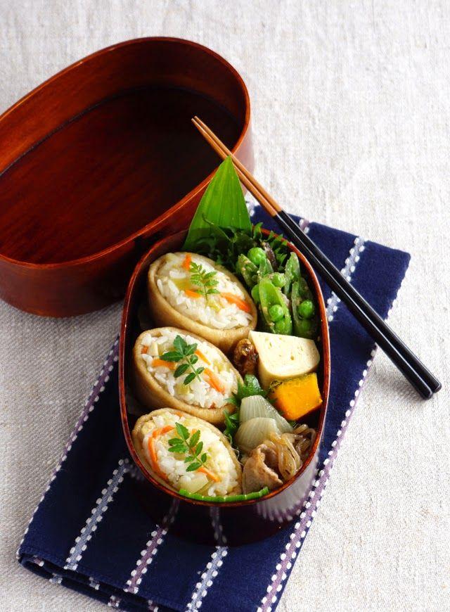 R journal: Inari-sushi bento・稲荷寿司弁当