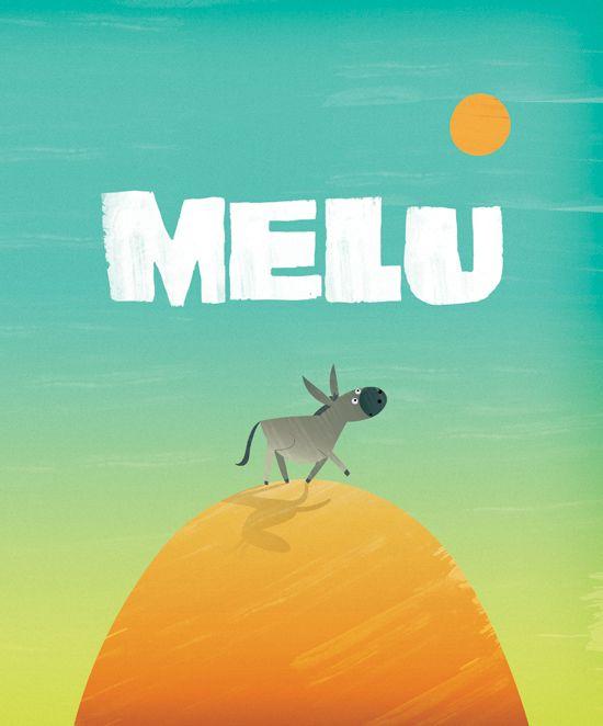 """Melu"" by Kyle Mewburn, Ali Teo & John O'Reilly  Children's Choice"