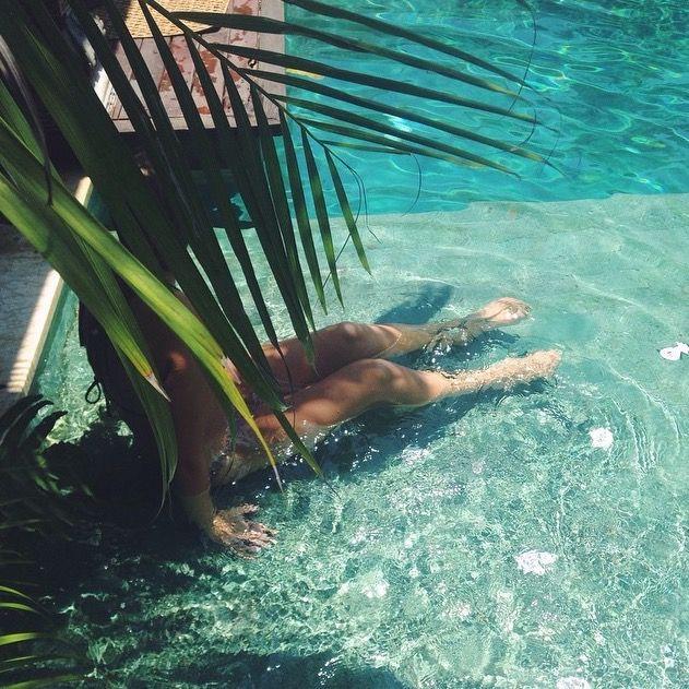 #palmtree #aqua #pool #bali