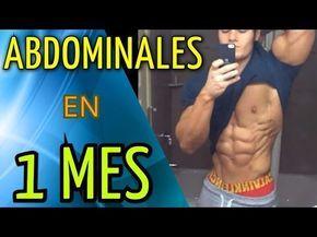 COMO TENER ABDOMINALES EN UN MES, en 30 días o incluso en una semana. Con dieta, entrenamiento y motivación puedes conseguir el abdomen marcado que siempre q...