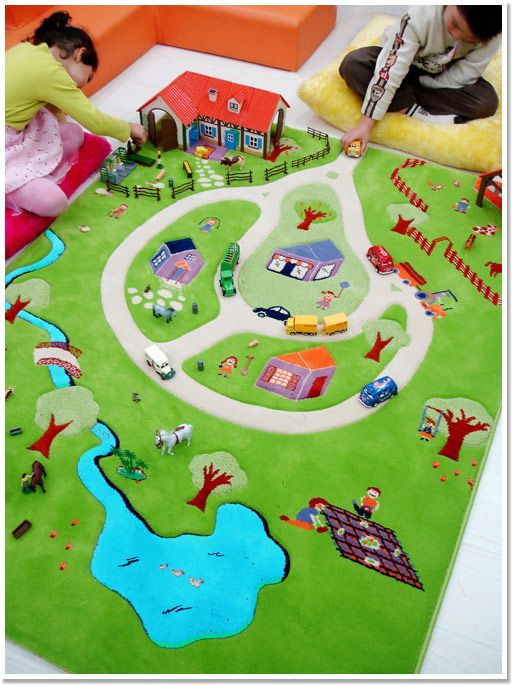 IVI Play Rug - Children's Rugs at Danish by Design