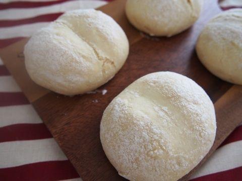 えっこんな簡単?発酵なし!お豆腐でモチモチっ☆白いハイジのパン