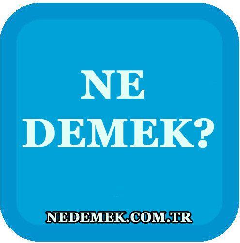 Köy Ne Demek? - http://nedemek.com.tr/koy-ne-demek/