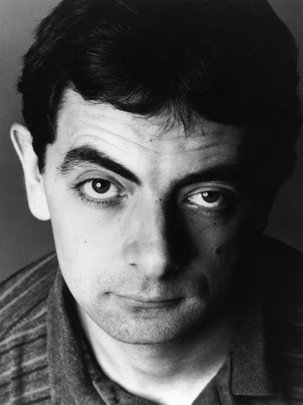 Rowan Sebastian Atkinson, 14 September 1990 © Trevor Leighton / The National Portrait Gallery, London