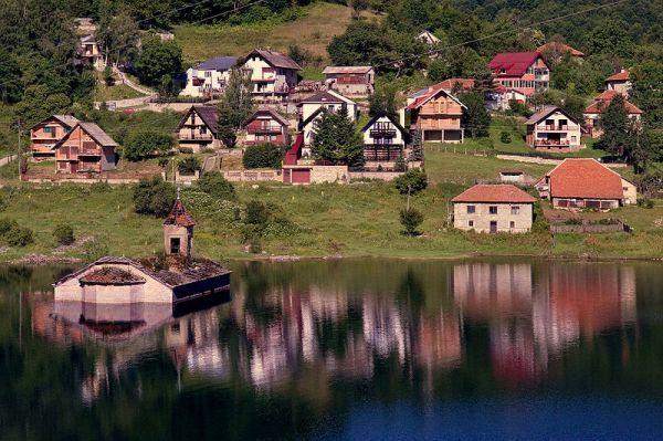 Urban GhostsThe Submerged Church of Mavrovo Lake, Macedonia | Urban Ghosts
