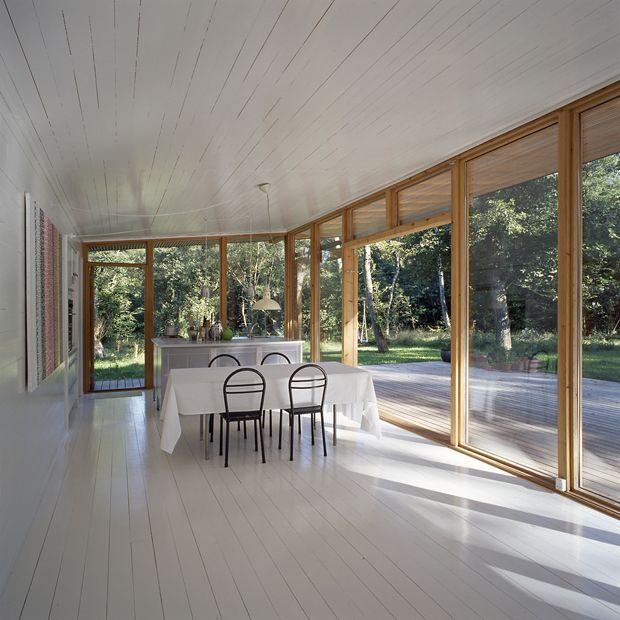 summer house in Asserbo, Denmark by Christensen & Co