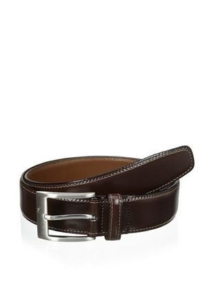 67% OFF J.Campbell Los Angeles Men's Double-Stitched Belt (Brown)