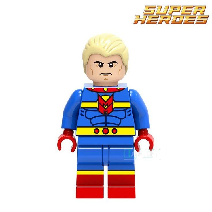 Collectible building block toy mini action figure model: Mr. Miracle #ROBO