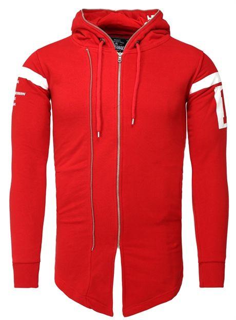 <b>Akito Tanaka</b> Sweat Jacket Ashitaka red | <b>Толстовки</b> | Jackets ...