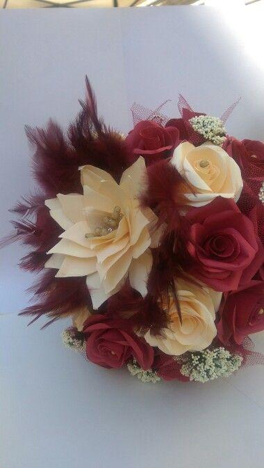 #paper#bridal#bouquet