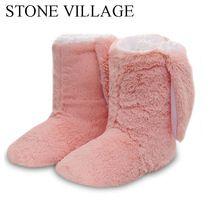 Nueva Moda de Invierno Zapatillas de Felpa Zapatillas de Casa Las Mujeres Zapatos Calientes Zapatos de Mujer Otoño Zapatos de los Deslizadores Caseros Para El Hogar Venta Caliente(China)