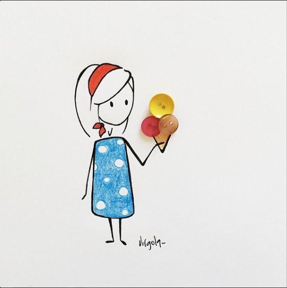 Da ilustradora e criadora siciliana, Virginia Azzurra Di Giorgio