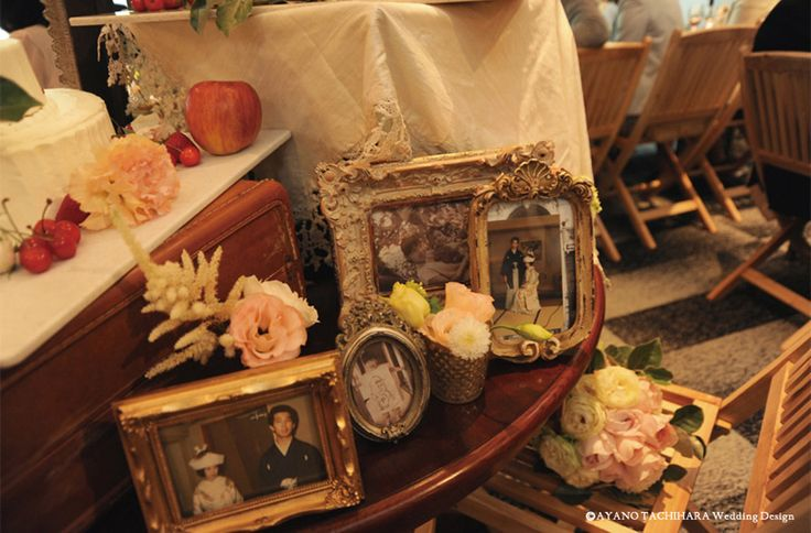 Portfolio | AYANO TACHIHARA Wedding Design