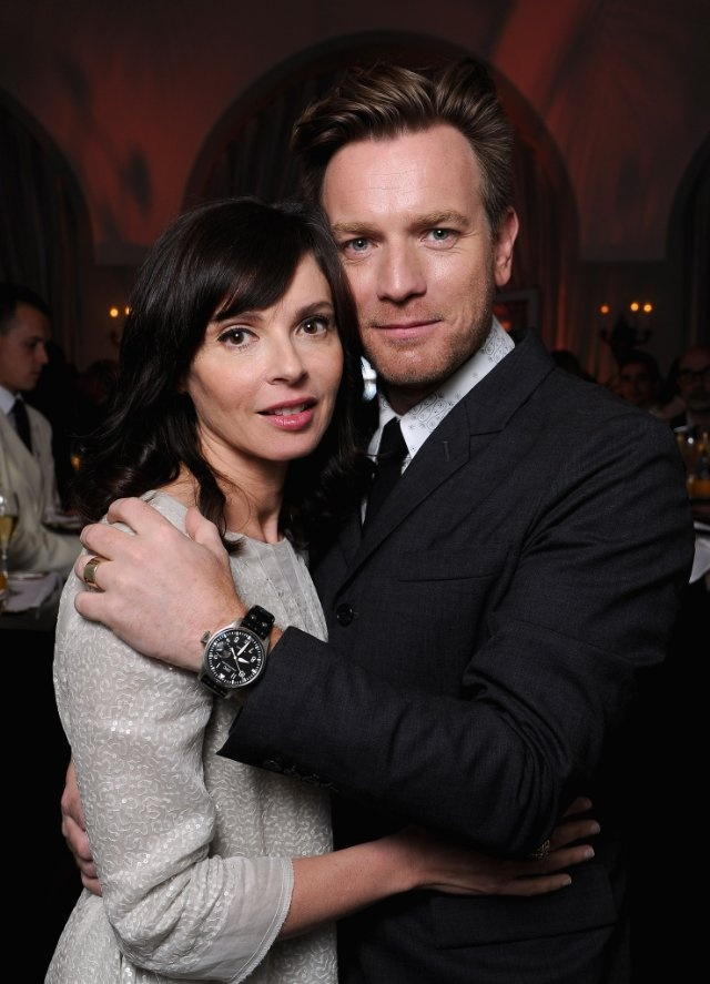 The magic Ewan McGregor and his wife Eve Mavrakis