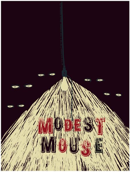 modest mouse poster! So good