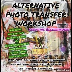 events.palmbeachculture.com | Alternative Photo Workshop with Christine Ellinghausen