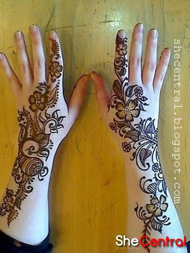 Arabic Mehndi Designs | Modern Mehndi Designs 2013 | Henna Art | Arabic Mehndi