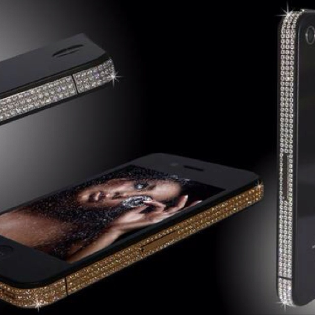 A $2500 Diamond iPhone Case