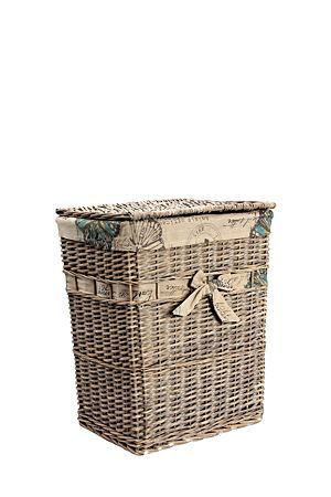 """This hand woven willow laundry with a pretty butterfly detail is the perfect storage solution for your bathroom. Utilities also available.<div class=""""pdpDescContent""""><BR /><b class=""""pdpDesc"""">Dimensions:</b><BR />L47xW35xH58 cm</div>"""