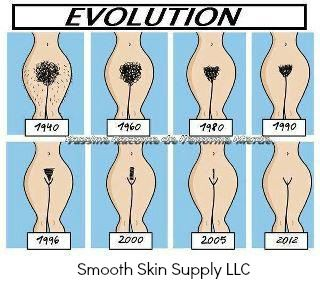Love this!! Less hair...more $$$ #brazilianwaxing