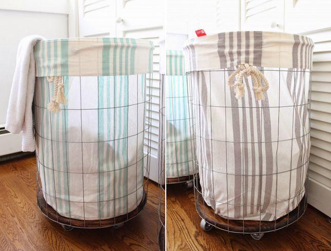 25+ melhores ideias sobre Cestos De Roupa Suja Para Banheiro no Pinterest  L -> Armario De Banheiro Com Cesto Para Roupa Suja