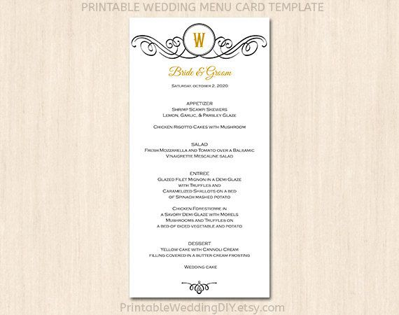 85 best Menu Ideas images on Pinterest Brunch, Butterfly and - menu template for word
