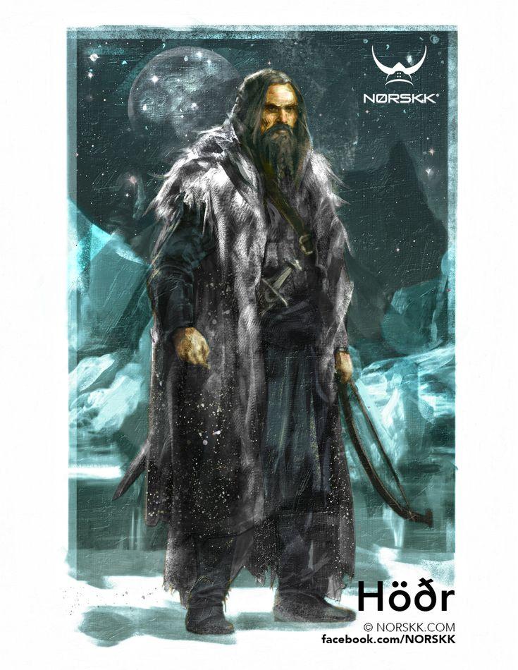 Æsir: Höðr: God of Winter and Darkness