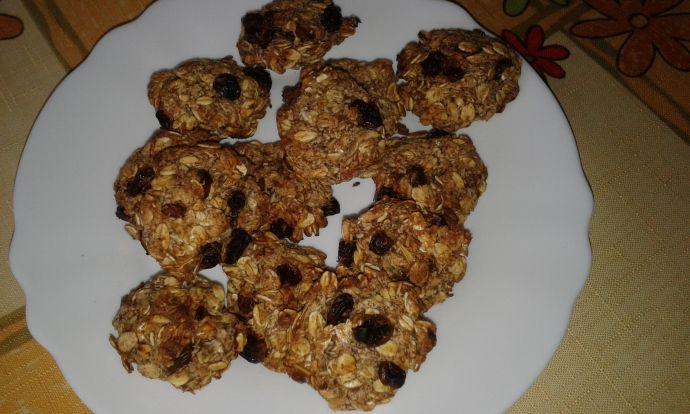 Jednoduché cookies bez tuku a cukru