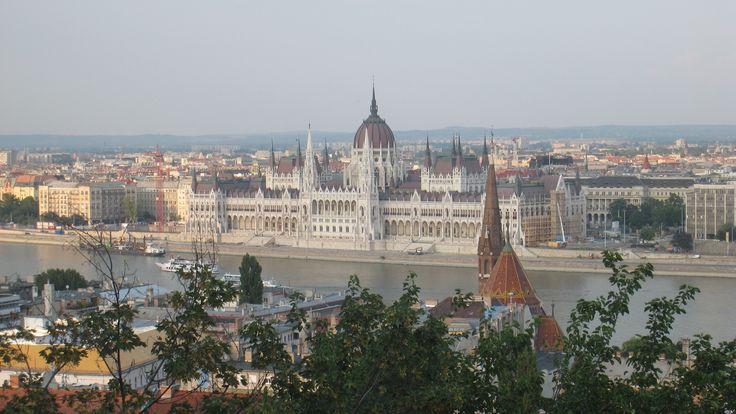 Pest vista da Buda: Parlamento