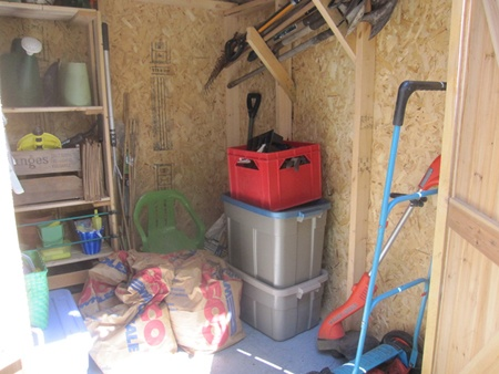 17 best images about screened in porch on pinterest duct for Garden shed organization ideas