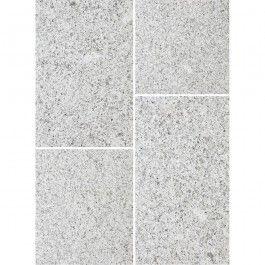 Bradstone Natural Granite Paving Silver Grey 600mm X 300mm X 25mm