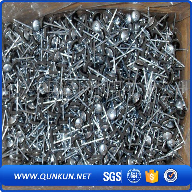 Q195 Twisted Shank Galvanized Umbrella Head Roofing Nails