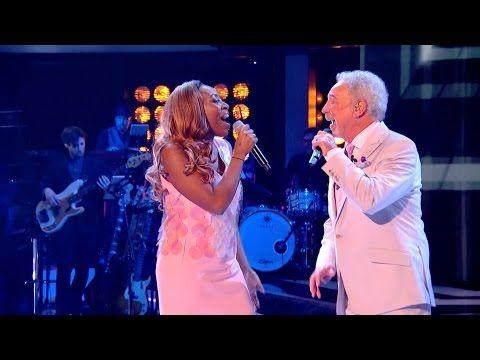 Sir Tom Jones & Sasha Simone perform River Deep Mountain High - The Voice UK 2015 - BBC - YouTube