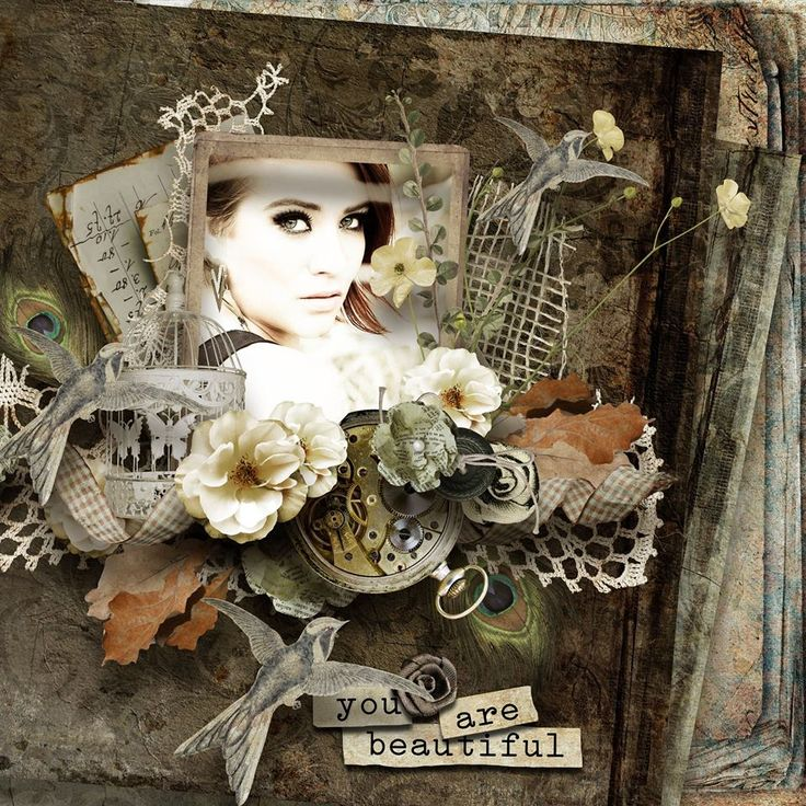 ***NEW*** In Those Days by Studio Manu. Available here :http://shop.scrapbookgraphics.com/In-Those-Days-pagekit.htm —