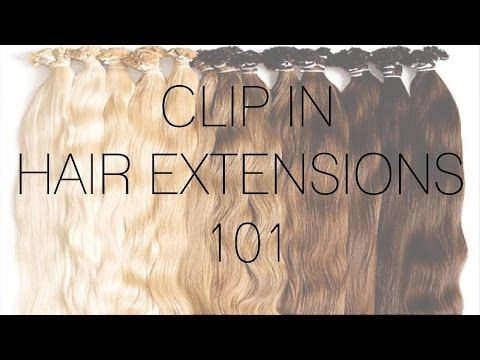 This tutorial I am showing you how I put in my clip in hair extensions for basic styles! To see WAY more tips and tricks go to my blog at www.barefootblonde....