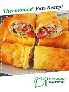 Wraps from Thermielfe. A Thermomix ® recipe from the Baking category hearty …  – Рецепты