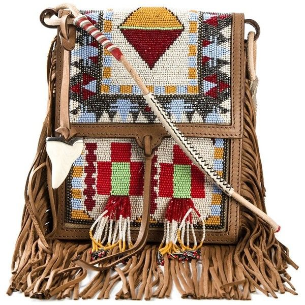 Etro beaded fringed bag ($2,955) found on Polyvore featuring bags ...