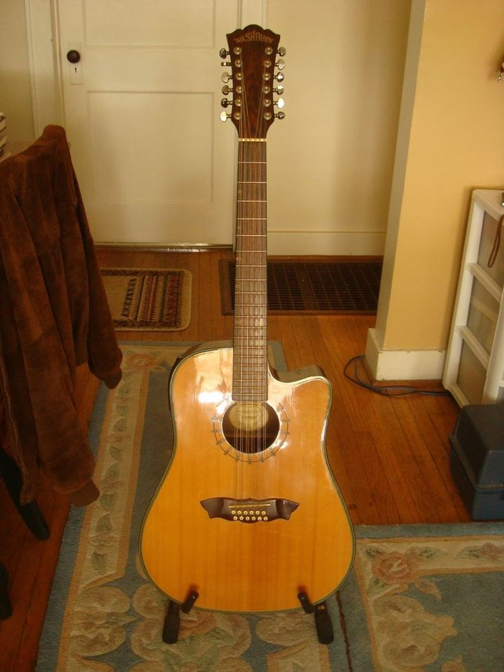 Washburn D46SCE Southwest Themed 12 string acoustic electric guitar #Washburn $299.99