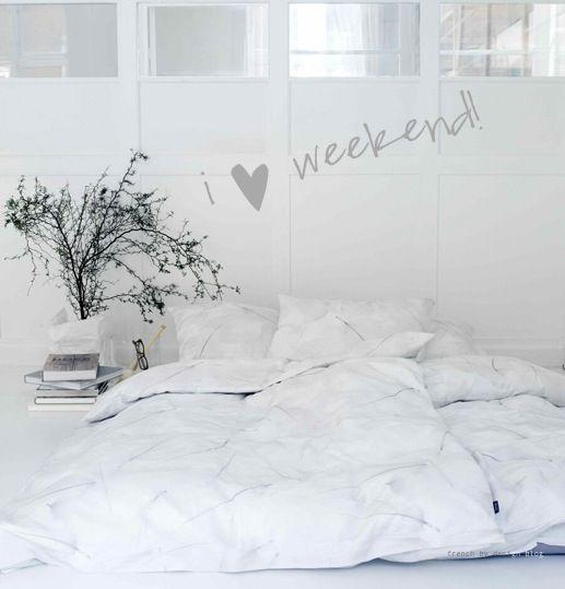 i heart weekend!
