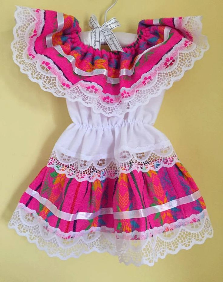 Little mexican dress lace mexican party day of the dead cinco de mayo fiesta mexicana white pink frida kahlo halloween baby girl peasant by Miamorcitocorazon on Etsy